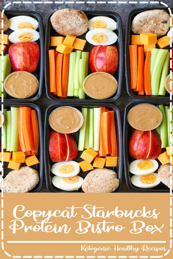 Now you can easily make your own snack boxes Copycat Starbucks Protein Bistro Box
