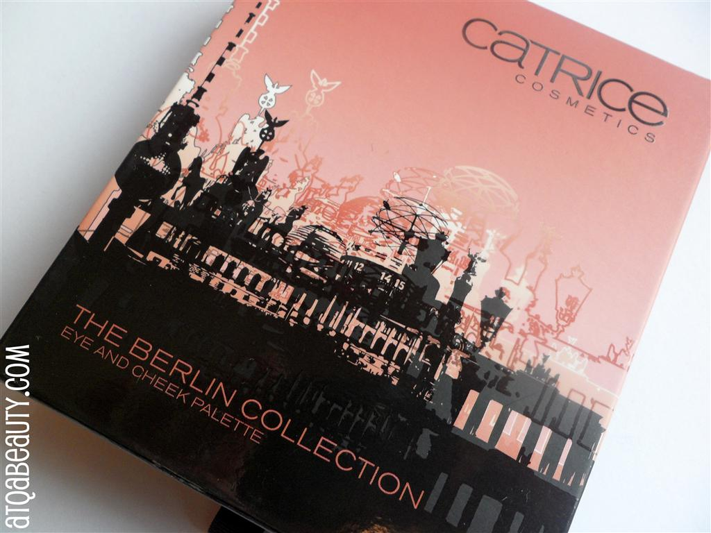 Makijaż :: Catrice The Berlin Collection Eye and Cheek Palette