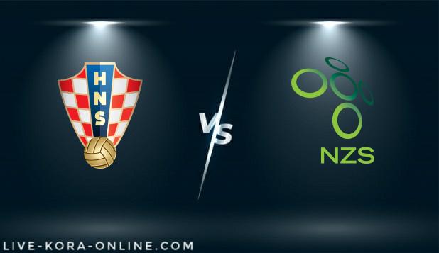 مشاهدة مباراة سلوفينيا وكرواتيا بث مباشر اليوم بتاريخ 24-03-2021 في تصفيات كأس العالم