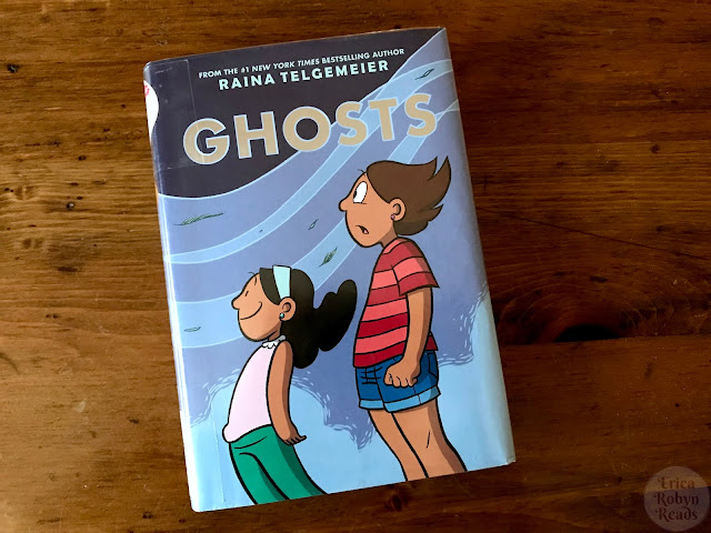 Graphic Novel Review of Ghosts by Raina Telgemeier