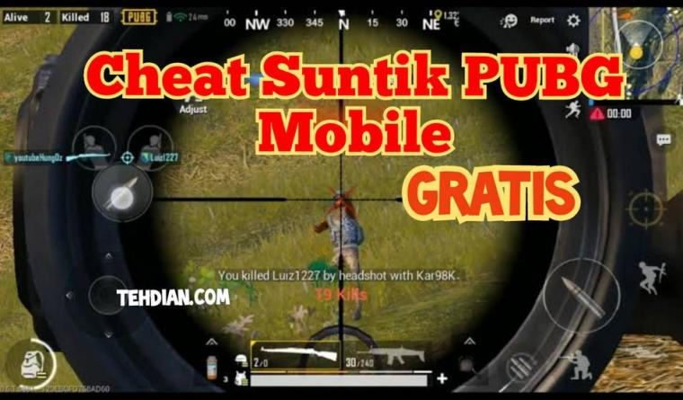 Cheat Suntik PUBG Mobile