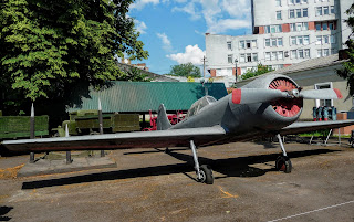 Ровно. Краеведческий музей. Экспозиция военной техники