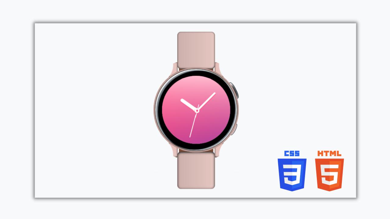 Samsung Watch Clone