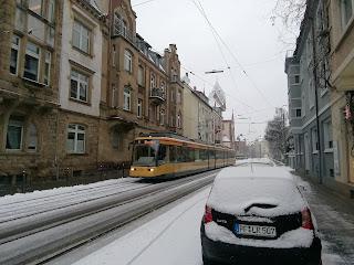 Железнодорожный трамвай, Карлсруэ, Баден-Вюртемберг