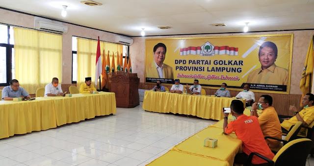 DPP Partai Golkar Resmi Tugaskan TEC Maju Pilkada Lamsel