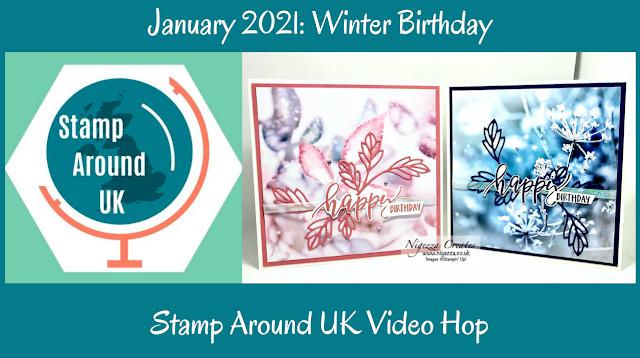 Stamp Around UK Jan 2021 Video Hop: Winter Birthday