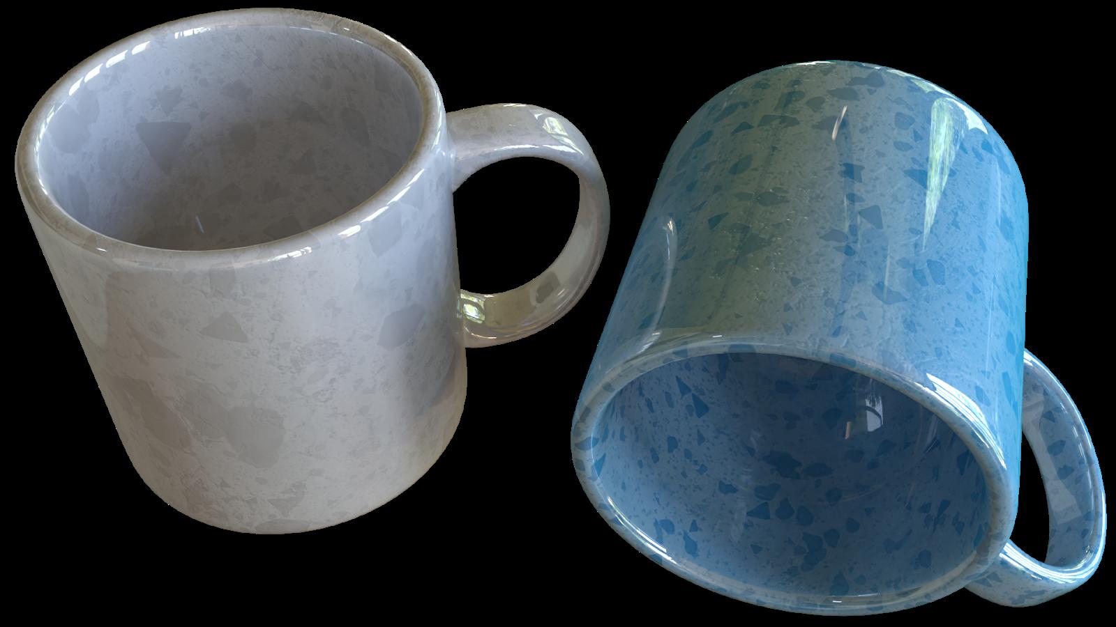 Free 3D Mugs CC0 3DS - Free 3D Models Under Public Domain