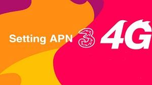 Setting APN 3 4G