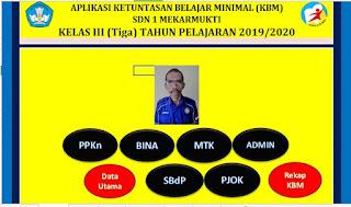 Aplikasi KKM Kurikulum 2013 Kelas 3 SD TP 2019/2020 - http://www.librarypendidikan.com/