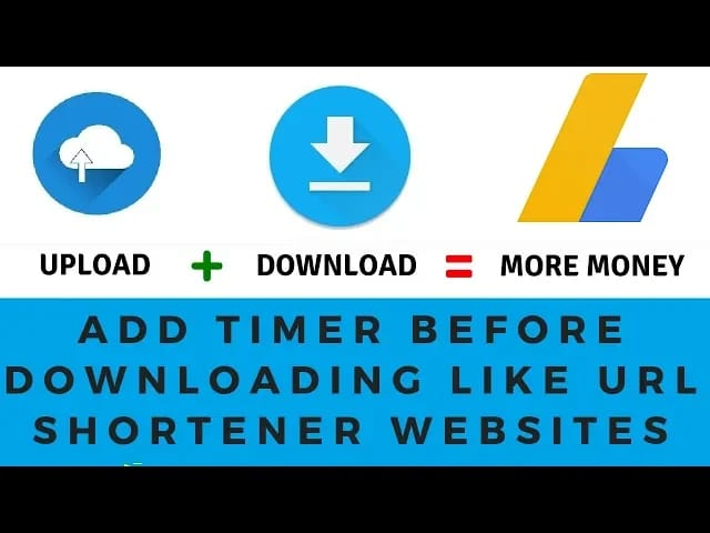 How to Add 15 Sec Download Timer in Blogger & WordPress