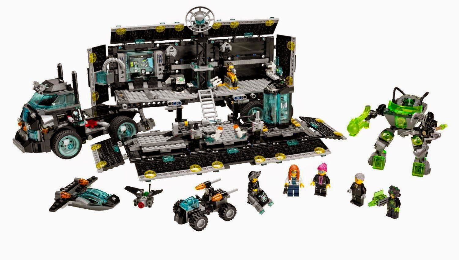lego gossip 230414 lego 70165 ultra agents mission hq box art and picture. Black Bedroom Furniture Sets. Home Design Ideas