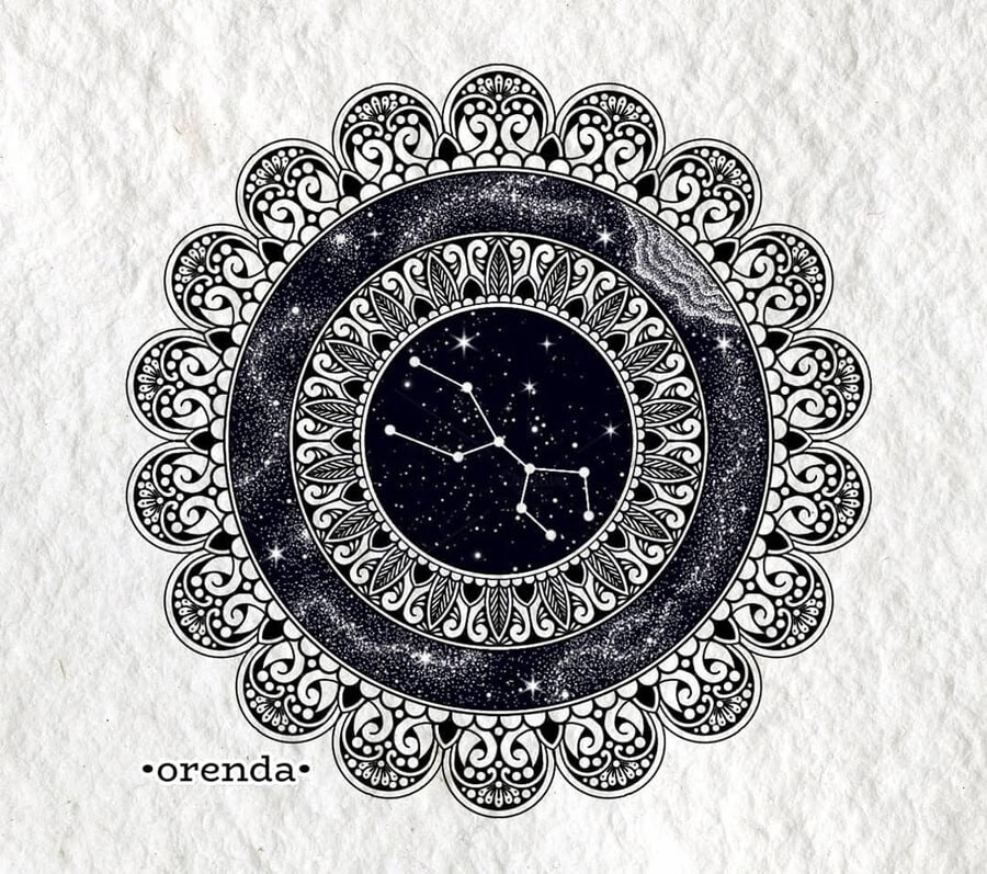 02-Taurus-Mandala-and-Zodiac-Orenda-www-designstack-co