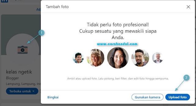 Cara Mengganti Foto Profil LinkedIn