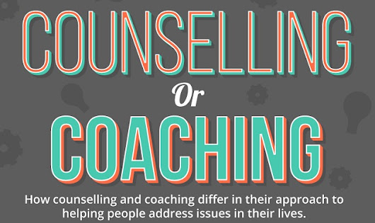 Counselling Or Coaching #infographic