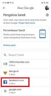 Cara Melihat Password Facebook Yang Tersimpan Di Android
