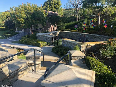Photos: see the private grave site where Kobe Bryant and daughter were laid to rest
