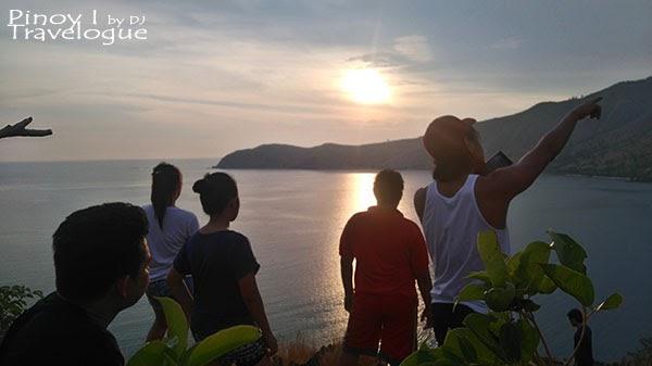Catching the sunset at Nagsasa Cove