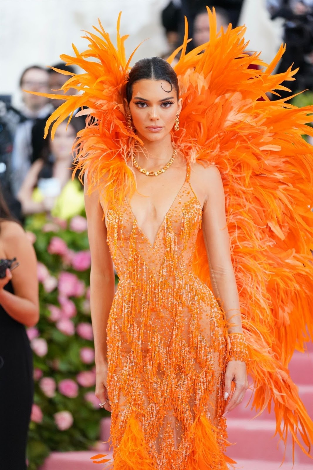 Kendall Jenner flaunts statuesque body at the 2019 Met Gala