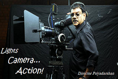 Here is a top film director Priyadarshan from south India