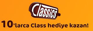 Algida Classics 10'larca Class Hediye Dağıtıyor