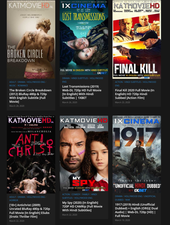 Katmoviehd - watch hindi movies online free without downloading high quality