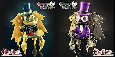 Mechtorian Deluxe Edition LEGO Mini Figure by Doktor A x Crazy Bricks