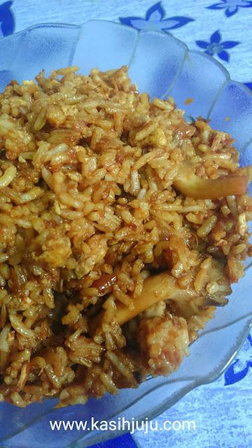 Resepi Nasi Goreng Cendawan Juju's Style