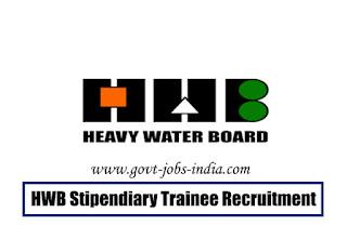HWB Stipendiary Trainee Recruitment 2020