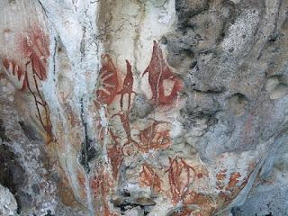 Lukisan Tangan Raja Ampat