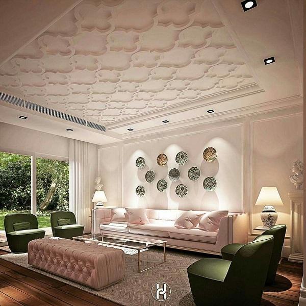 ديكورات أسقف جبس مودرن 2020 كيف تختارها لمختلف الغرف بالصور