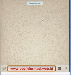Masukkan Nomer Hp WhatsApp di Youwave