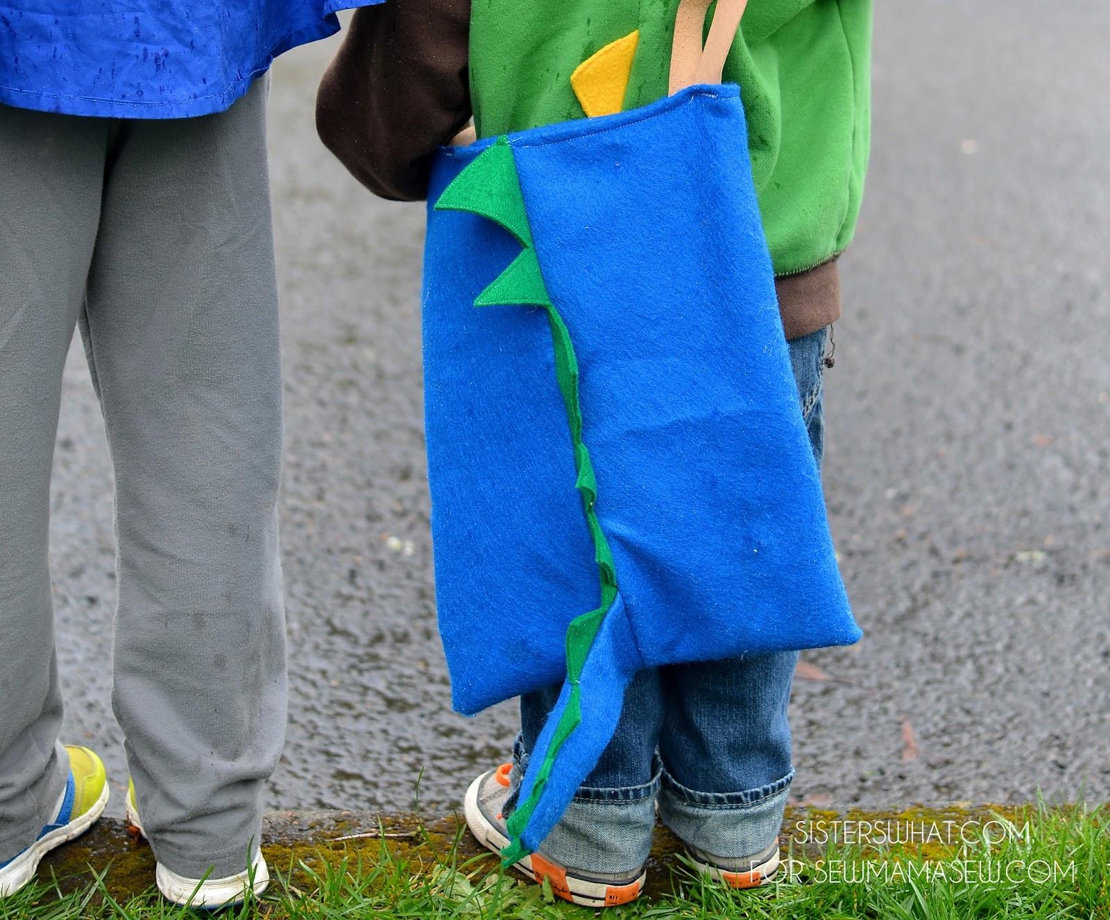 Dinosaur Bag Sewing Tutorial