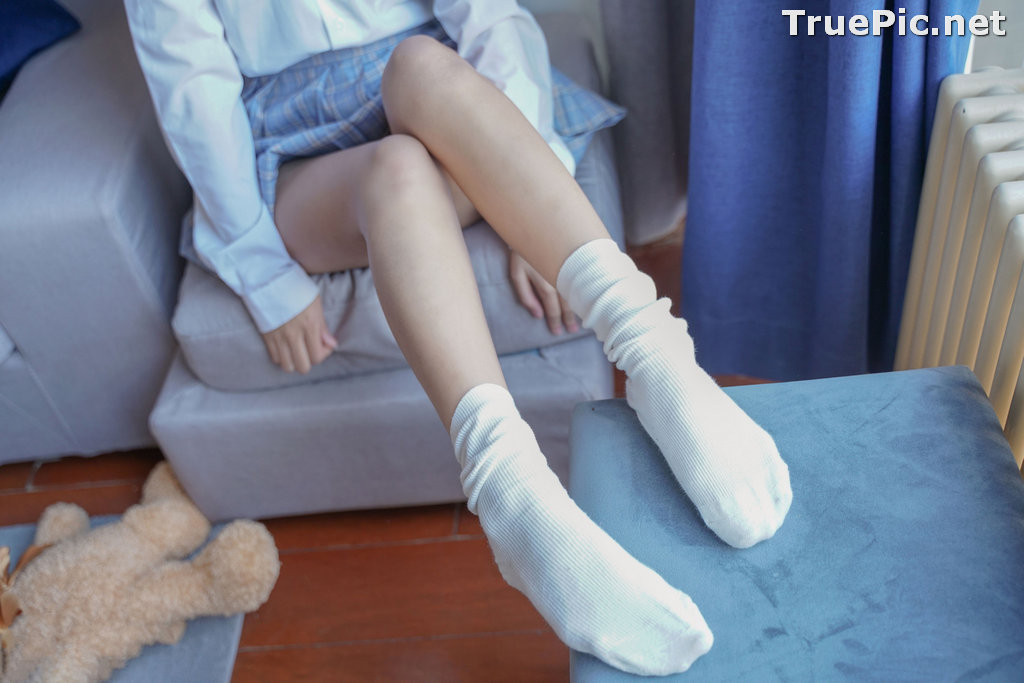 Image [MTCos] 喵糖映画 Vol.047 – Chinese Cute Model – Sexy Student Uniform - TruePic.net - Picture-15