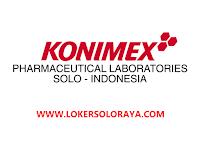 Program Pendidikan Kompetensi  Analis di Industri Farmasi & Makanan PT Konimex Sukoharjo