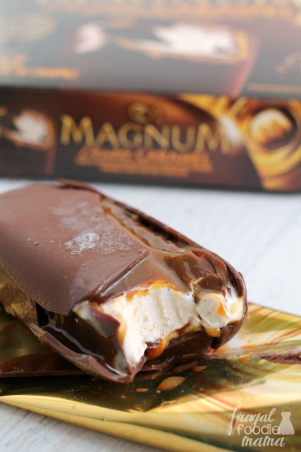 Making time for yourself can be hard during the busy school year. See how I am treating myself to more during back to school with a little help from Target and Magnum Double Caramel Bars. #MoreTreats #partner