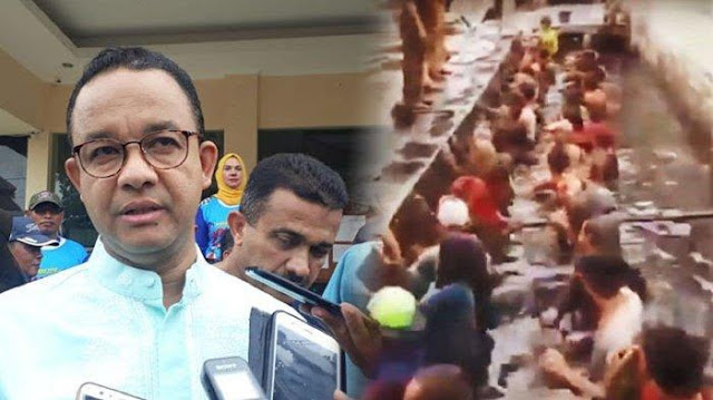 Gubernur Anies Baswedan Copot Lurah Jelambar Usai Ngetes Pegawai Honorer Nyebur Got