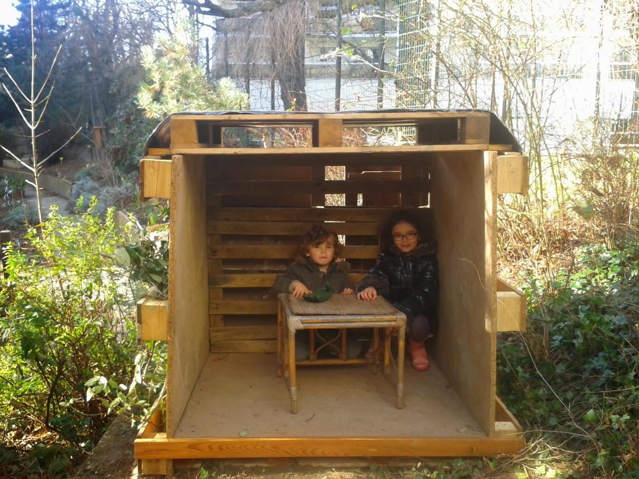 Cabane Jardin En Palette jardin santerre 107 rue de reuilly paris 12ème: la cabane