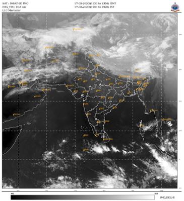 Imd Satellite Image