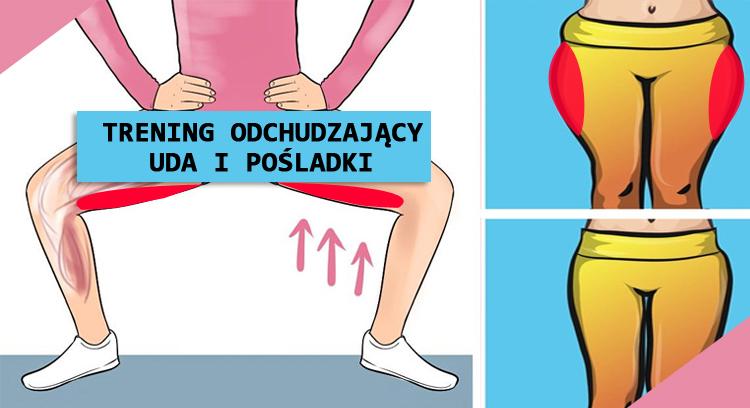 Trening Odchudzający HIIT i Cardio + uda i pośladki