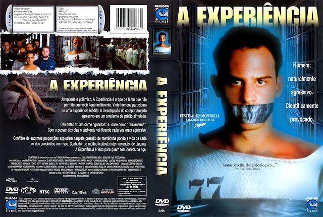Capa DVD A Experiência