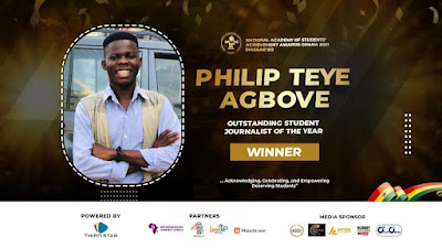GH Media student wins Outstanding Student Journalist of the year Award