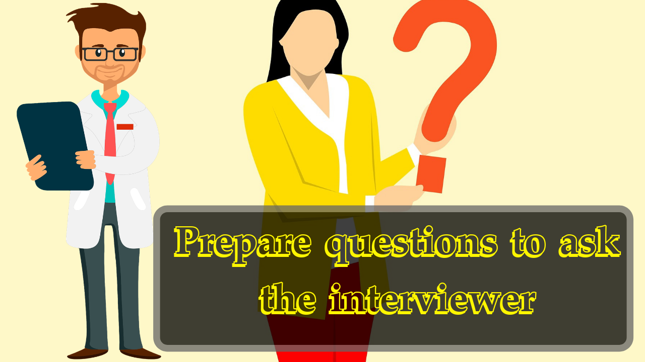 Prepare questions to ask the interviewer | Process Of Preparing For A Job Interview And Job Interview Questions Itifitter.com