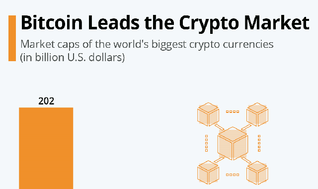 Bitcoin Leads the Crypto Market #infographic