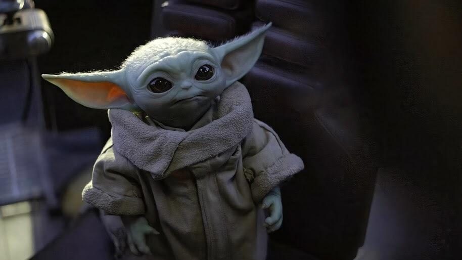 Baby Yoda, The Mandalorian, 4K, #7.987