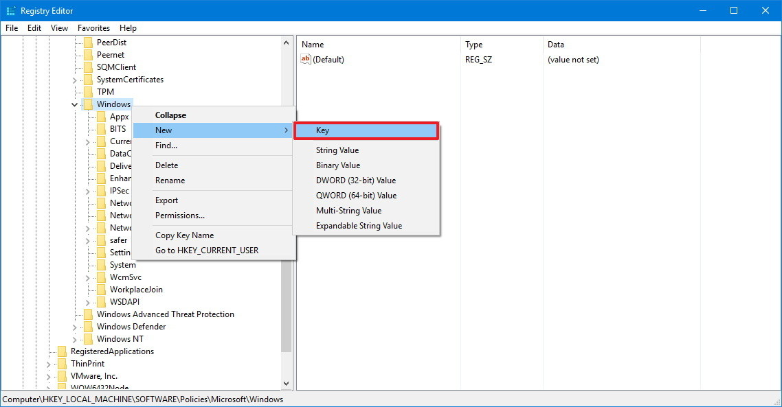windows 10 disable lenovo firmware update registry