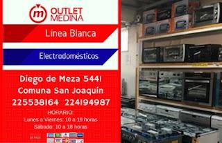 Outlet Medina comercializa línea blanca y electrodomésticos a precios rebajados