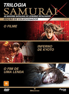 Samurai X Trilogia Torrent (2012) Dual Áudio / Dublado BluRay 1080p – Download