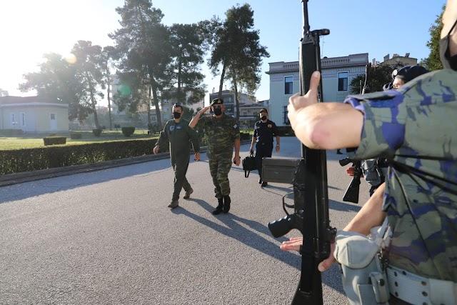 Ο Α/ΓΕΕΘΑ σε ΑΤΑ-1η Στρατιά-ΕΚΑΕ: Τι είπε για ελληνοτουρκικά-Rafale-Προσλήψεις στις ΕΔ (11 ΦΩΤΟ-BINTEO)