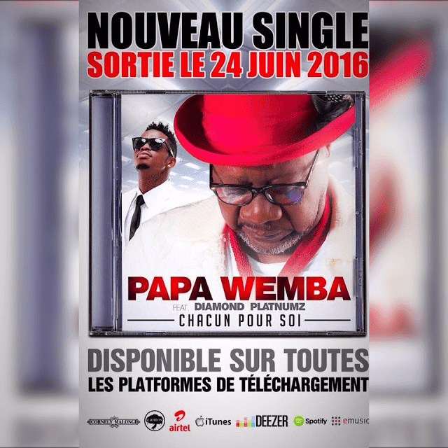 AUDIO Rhumba | Papa Wemba Feat. Diamond Platnumz – Chacun Pour Soi | Mp3 Download