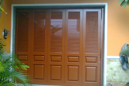Pintu Garasi Besi Powder Coating Melayani di Bandung dan Sekitarnya